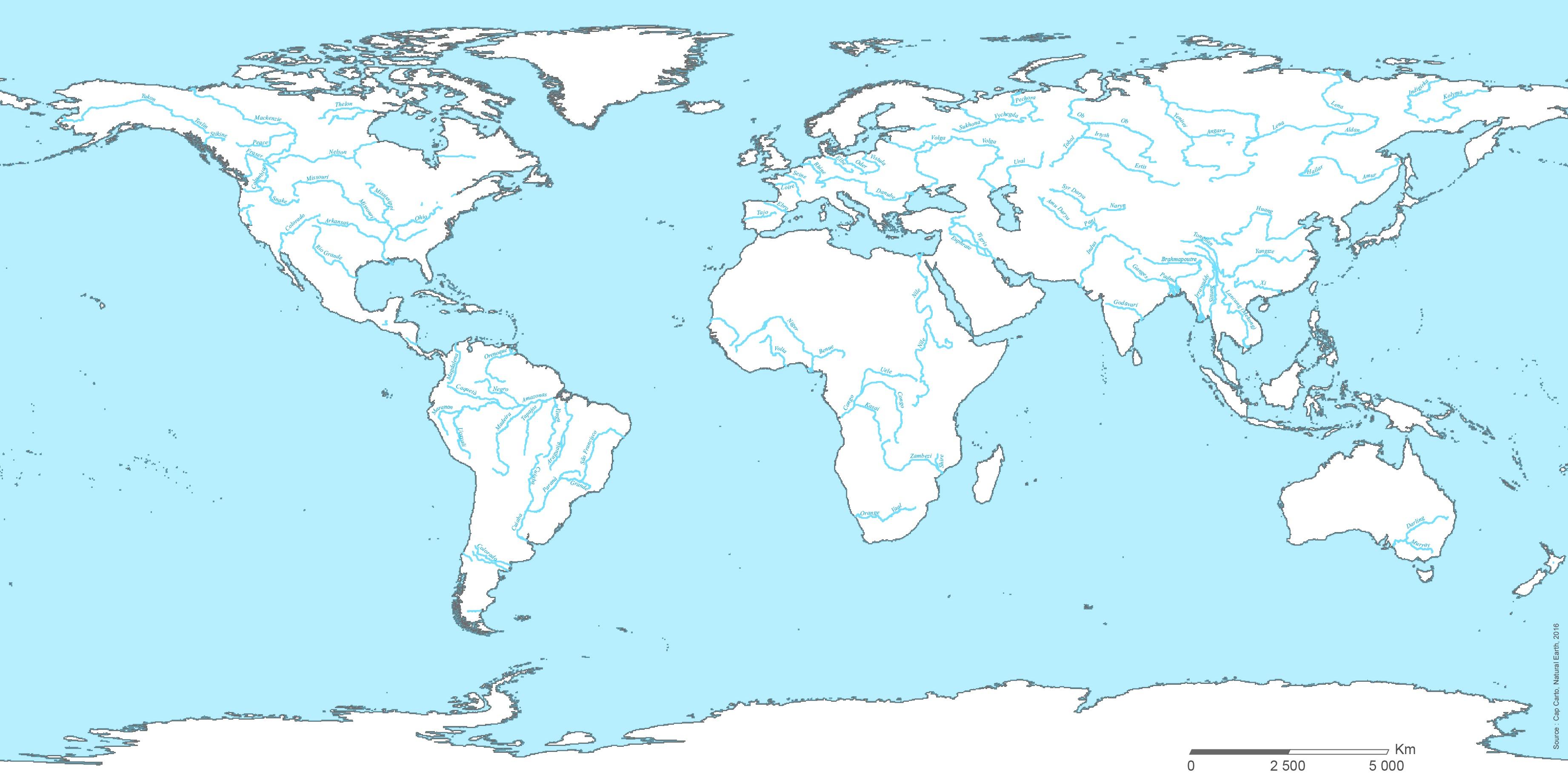 Rivières du monde