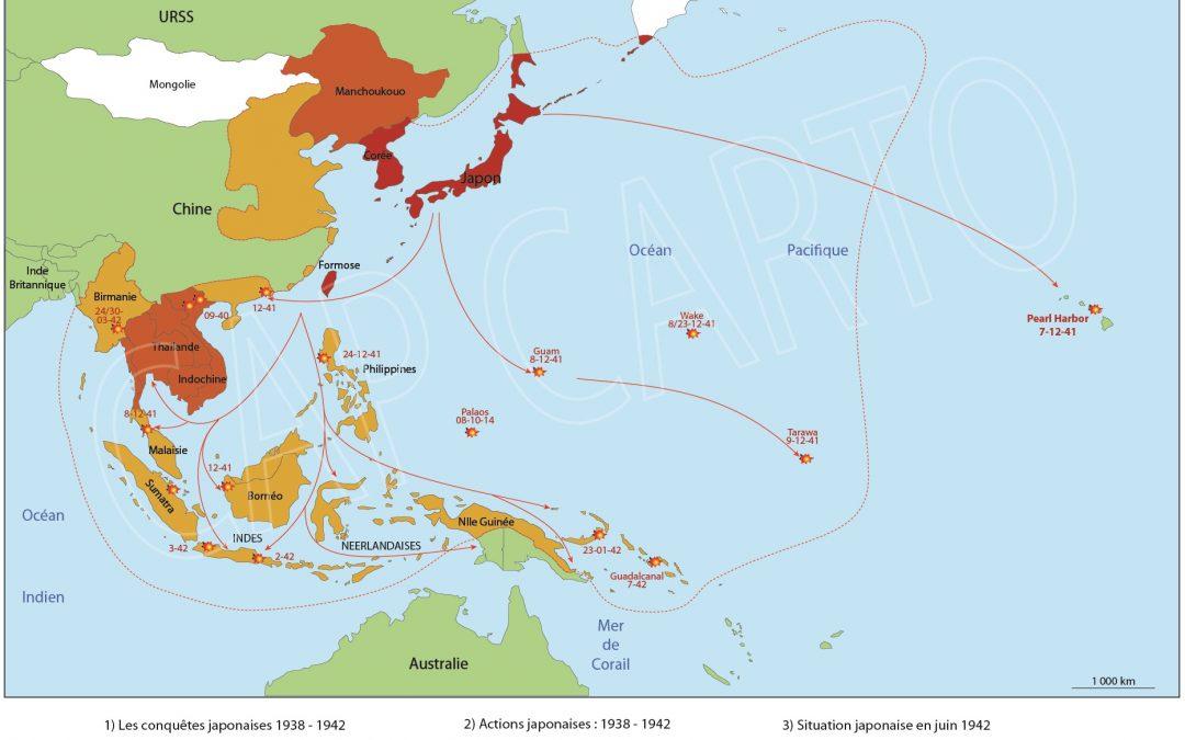 La Guerre du Pacifique : La conquête japonaise 1938-1942